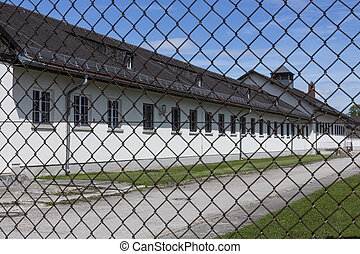 Dachau Nazi Concentration Camp - Germany
