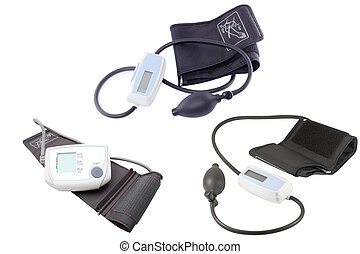 Blood pressure measuring instruments under the light...