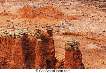 Sandstone formations in Utah, USA