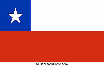 flat chilean flag