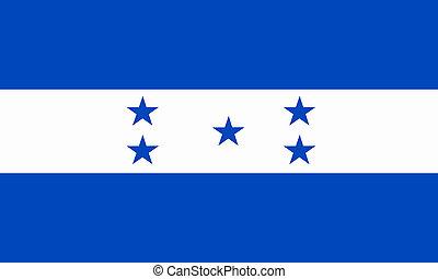 flat honduran flag