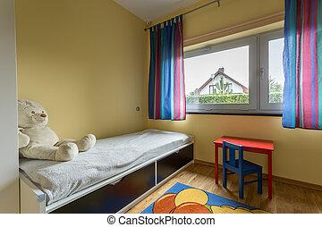 Unisex preschooler bedroom - Unisex preschooler functional...