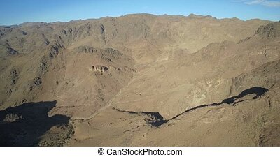 Aerial, Tizi-n-Tazazert Trail, Morocco - Untouched and flat...
