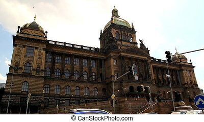 Prague National Museum 30 - PRAGUE - June 6, 2010: The...