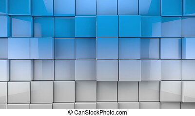 tiles cubes background - Abstract image of cubes background...