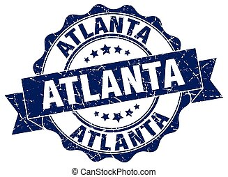 Atlanta round ribbon seal