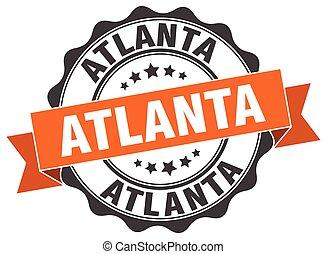 Atlanta round ribbon seal