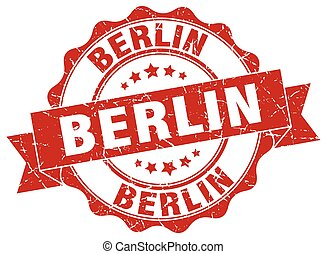 Berlin round ribbon seal