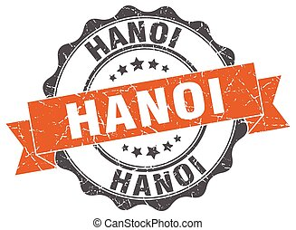 Hanoi round ribbon seal