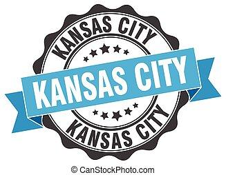 Kansas City round ribbon seal