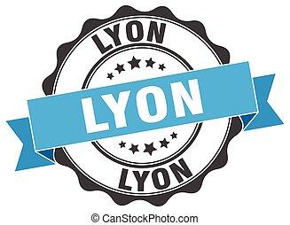 Lyon round ribbon seal