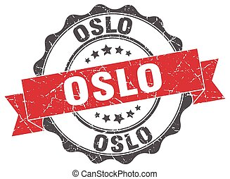 Oslo round ribbon seal