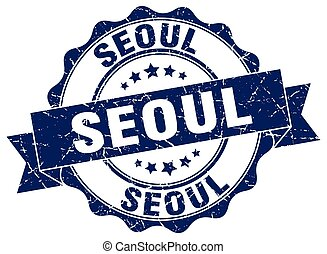 Seoul round ribbon seal