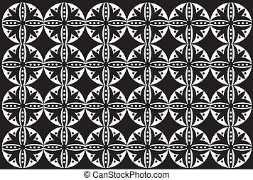 Seamless pattern easy to resize or change color