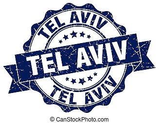 Tel Aviv round ribbon seal