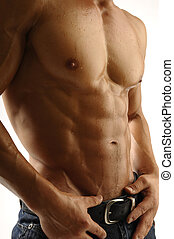 Muscleman - Young athletic body