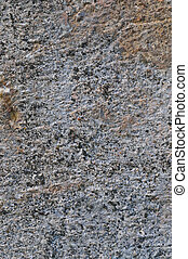 Grey Coarse Concrete Stone Wall Texture, Vertical Macro Closeup Old Aged Weathered Detailed Natural Gray Rustic Textured Grungy Stonewall Background Pattern Detail, Blank Empty Vintage Copy Space, Red, Beige, Yellow, Reddish Grunge Limestone Dolomite Hard Sedimentary Slate Slab Rock Fragments