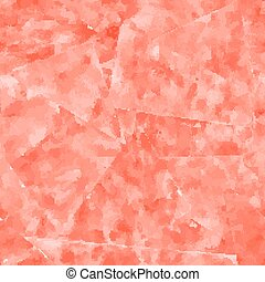 Abstract seamless pattern. Red watercolor background. Vector illustration.