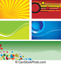 Background. Set. Vector illustration for you design