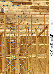 Residential construction home framing