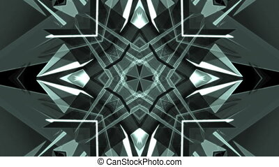 VJ background looping blue gray abstract animation -...