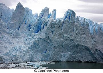 Glacier Perito Moreno ice - The Ice of Glacier Perito Moreno...