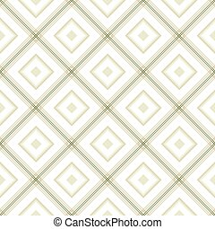 Delicate romb geometric background pattern green white grey
