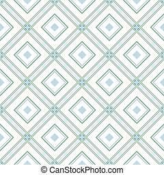 Delicate romb geometric background pattern green white grey...