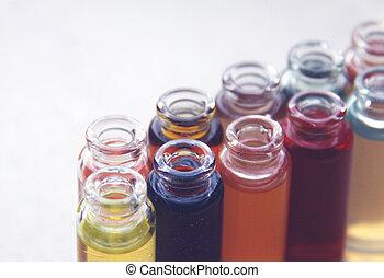 Medicine. Test tube series
