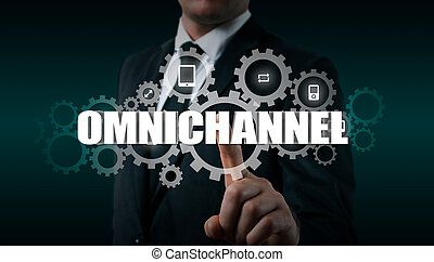 The concept of Omnichannel between devices to improve the...