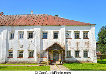 Building with monastic cells in Kirillo-Belozersky...