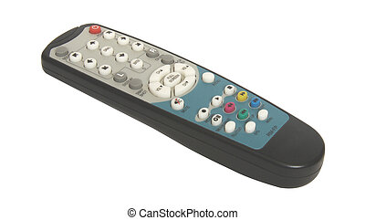 Remote control on white background For you design