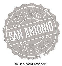San Antonio stamp. Grunge design with dust scratches....