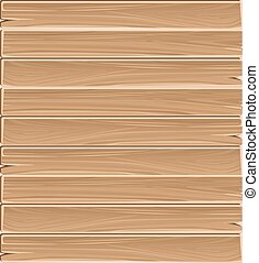 Wooden planks board vector seamless pattern. Background wood...