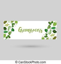 Greengrocers flyer or header