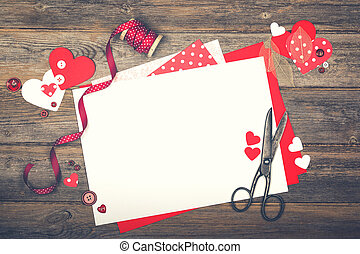 Scrapbooking for Valentine's Day