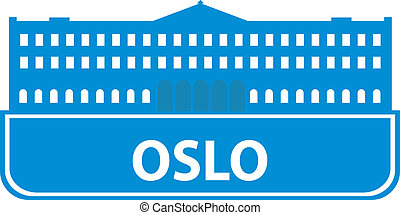 Oslo outline Vector illustration for you design