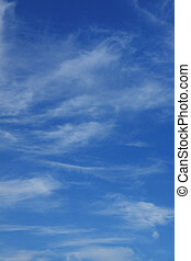 Blue sky and fine clouds XXL Background for you design