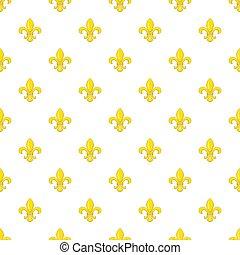 Knight ornament pattern, cartoon style - Knight ornament...