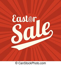 easter sale type font for business