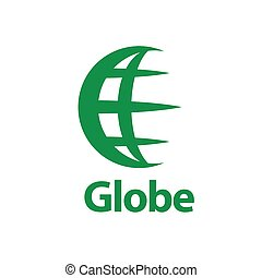 abstract logo Globe - pattern design abstract logo Globe....