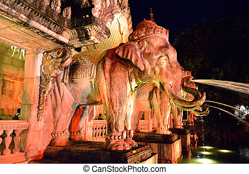 Palace of the elephants, Phuket, Thailand