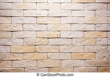 Brown yellow brick background, useful for design,...