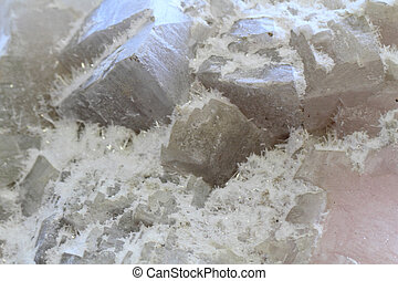 salt, halite mineral texture as nice background