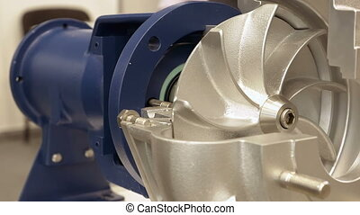 Rotor turbine electric pump for water or liquid - Rotor...