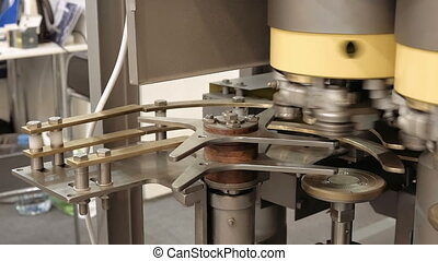 Mechanical equipment for bottling - Bottling and sealing...