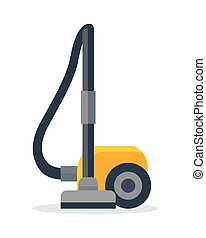 Vacuum Cleaner Icon Isolated on White - Vacuum cleaner icon...