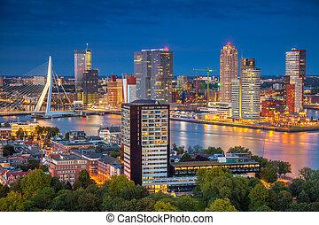Rotterdam. - Cityscape image of Rotterdam, Netherlands...