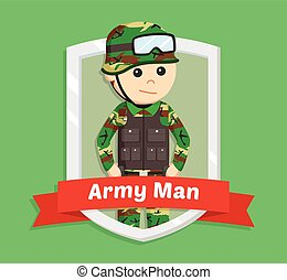 Army man Vector Clipart EPS Images. 3,930 Army man clip art vector ...