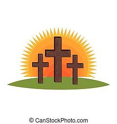cross religious symbol icon